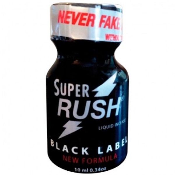 avis poppers super rush black label